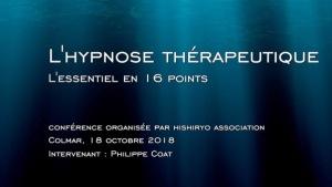 hypnose, Hypnothérapie, Colmar, psychothérapie, sophrologie, Philippe Coat, Natalia Coat, coaching génératif